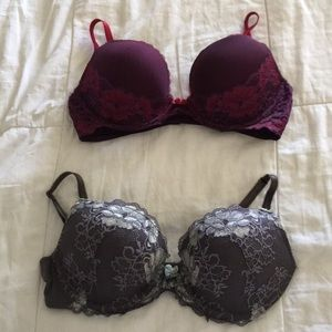 2 Cute Push-up bras